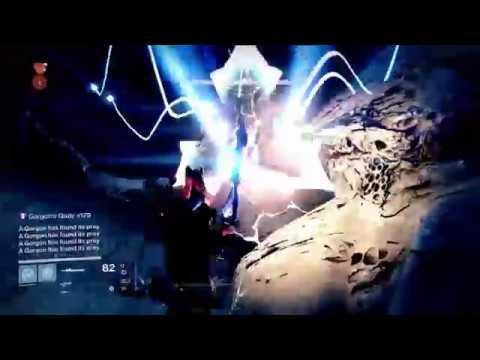 Destiny - Killing All The Gorgon's At Once!  Surviving Gorgon's Gaze Method in Vault of Glass