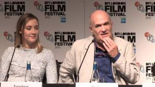Brooklyn – BFI LFF - Press Conference John Crowley, Nick Hornby, Saoirse Ronan,  Colm Tóibín
