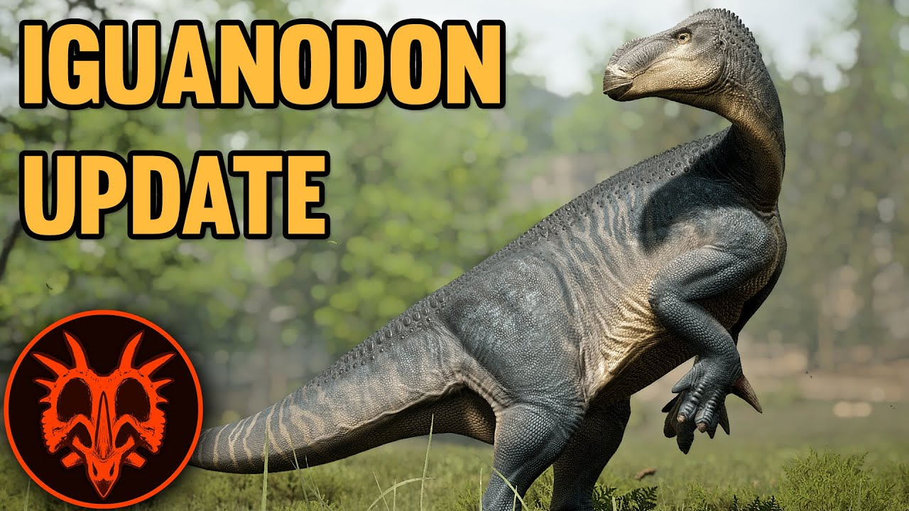 NEW Iguanodon Released! - Path of Titans Update