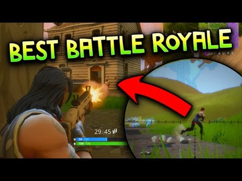 BEST BATTLE ROYALE GAME OF 2017!!