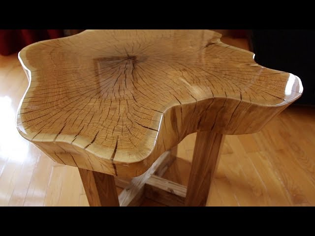 How to make a beautiful slab table