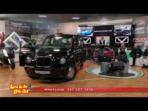 Paddock Bobbgear Edition del 9 ottobre 2017 MSPORT LTI TX1 BLACK CAB