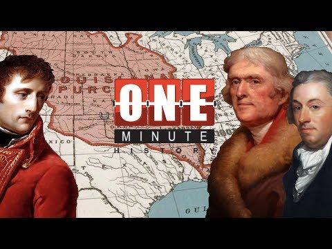 Louisiana Purchase - Thomas Jefferson Achievements - One Minute History