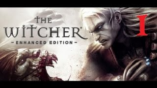 THE WITCHER - Enhanced Edition #1 [Hard Difficulty] | Let's Play