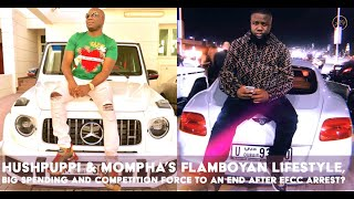 HUSHPUPPI & MONEY MAN, MOMPHA'S RELATIONSHIP IS A COMPETITION AND ONE OF THEM IS WINNING?