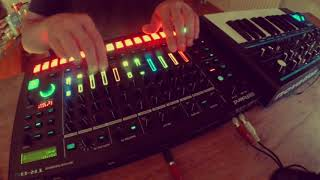 Leon Woodman // Live techno // Roland TR-8S + BassStation