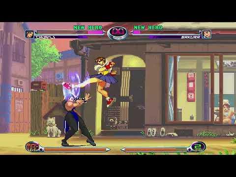 [S09 MUGEN] Chun-Li #6 Vs. Sakura Kasugano