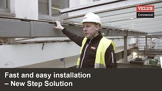 Fast and easy installation | New Step Solution | VELUX Modular Skylights