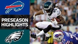 Bills vs. Eagles | NFL Preseason Week 2 Game Highlights