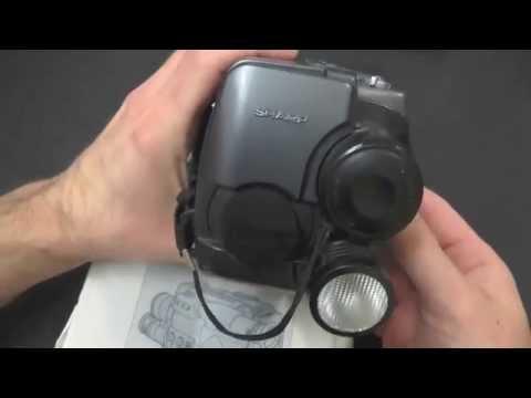 DL#029 - Teardown: Sharp VL-M4 1990s Video8 Camera