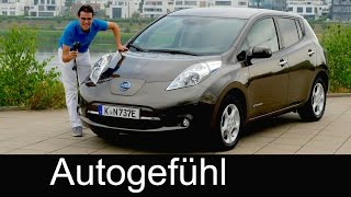 Nissan Leaf FULL REVIEW 30 kWh 250 km battery upgrade test driven electric car