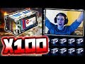 HUGE 100 ACCELERATOR CRATE OPENING I Won Rocket League mp3