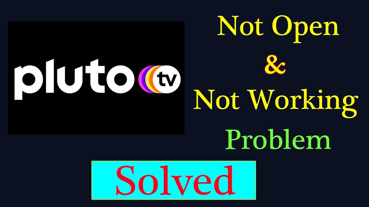 """Download How to Fix Pluto Tv App Not Working Issue   """"Pluto Tv Guide """" Not Open Problem in Android & Ios"""
