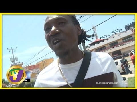 Taxi Driver Confronts TVJ's Videographer   TVJ News - Sept 2 2021