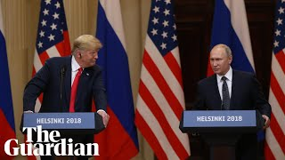 Key moments from the Trump-Putin press conference
