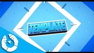 CROMAVE=2D Blue Intro Template #123 [2K 60FPS]