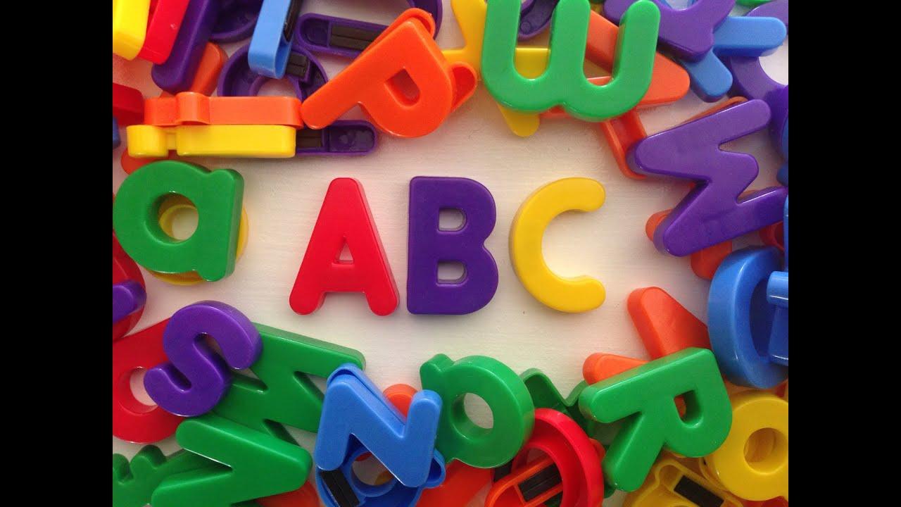 The Alphabet Song For Children Youtube