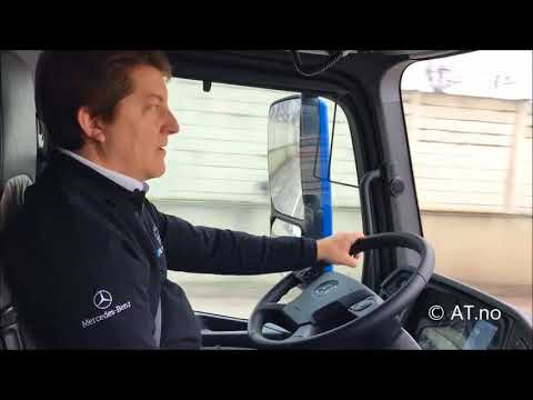 New Mercedes-Benz eActros 100% electric truck from Daimler