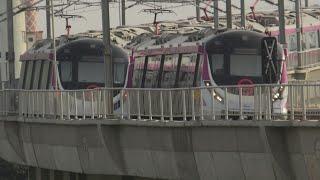 Delhi Metro Magenta Line: Full Jrny in the Newly opened Section| Chirag Delhi-Janakpuri West