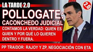 #POLLOGATE: CACHONDEO JUDICIAL.