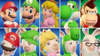 Mario + Rabbids Kingdom Battle - All Characters