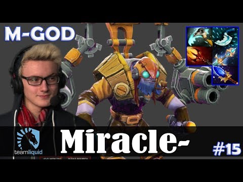Miracle - Tinker MID | M-GOD | 7.07 Update Patch Dota 2 Pro MMR  Gameplay #15