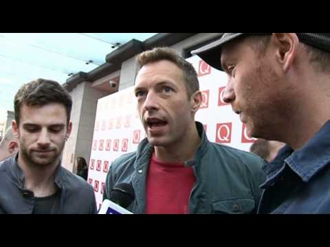 Q Awards 2011 red carpet - Coldplay interview