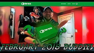 1up Box February 2018 Buddies Unboxing