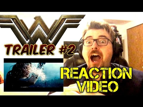 WONDER WOMAN | Official Trailer 2 | Reaction Video
