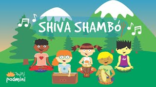 🎶 Mantra SHIVA SHAMBÓ | MiniPadmini (Yoga para niños y niñas)