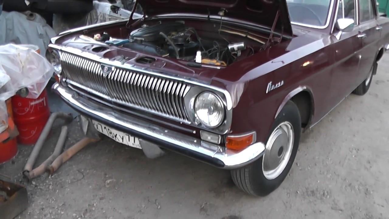 Волга ГАЗ 24 1979г готовится к Крымскому автопробегу в мае 2017