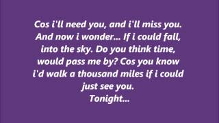 Ronan Parke - A Thousand Miles - Lyrics