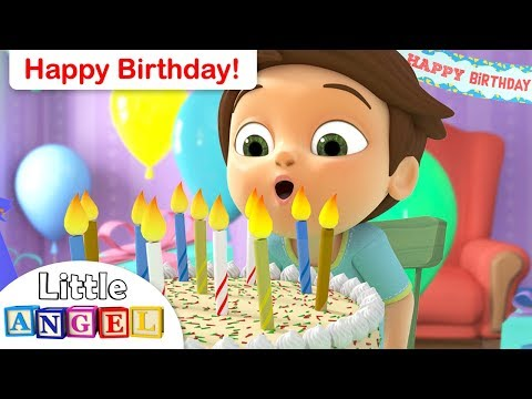 Happy Birthday Song for Children  We Are The Princesses +More Kids Songs  Little Angel