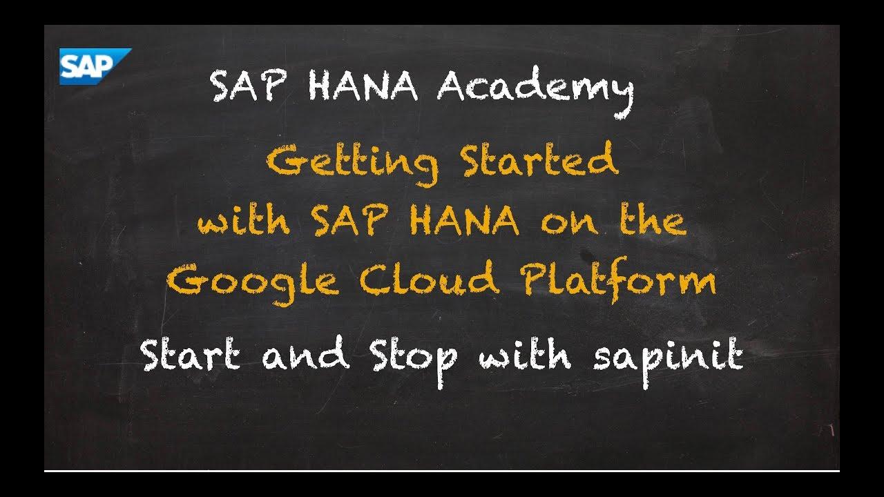 SAP HANA Under The Hood: SAPInit and SAPStartSrv – by the
