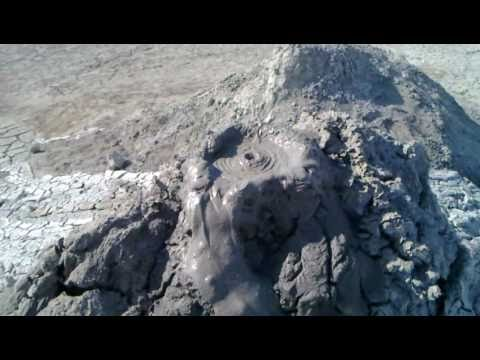 Azerbaijan Muddy Volcanoes, Caspian sea offshore 2010 0808_006.mp4