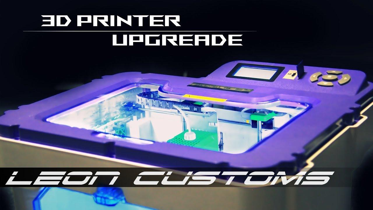 Апгрейд 3D Принтера СВОИМИ РУКАМИ (Myriwell Rl200a) - 3D PRINTER UPGRADE