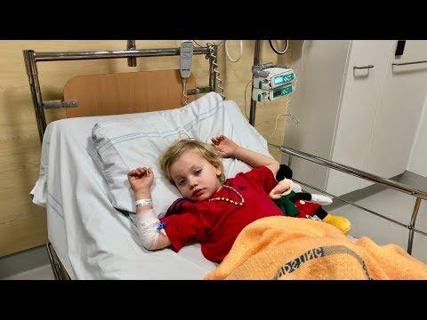 Harry inlagd på sjukhus VLOGG