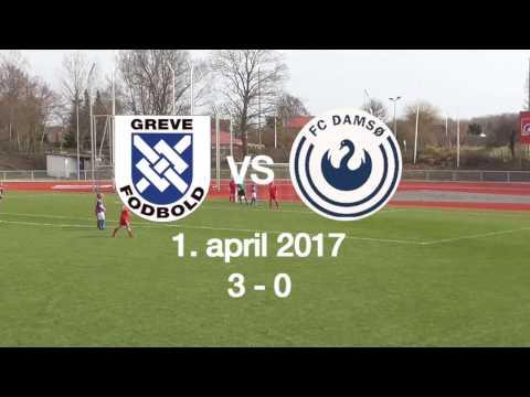 Målene fra Greve vs. FC Damsø