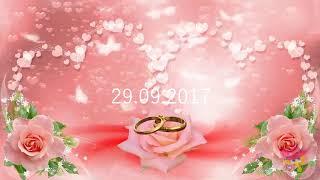 Свадьба 1984 г. и венчание 2017 г._клип