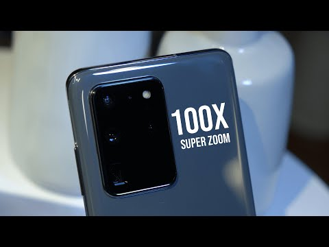 We tried the 100x zoom of the Samsung Galaxy Ultra!