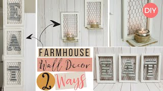 Kitchen or Candle Wall Decor | Eat Sign DIY | Farmhouse Styled DIY | Ashleigh Lauren