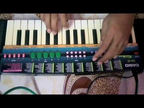 Aago Karlyache Maule song on piano with banjo