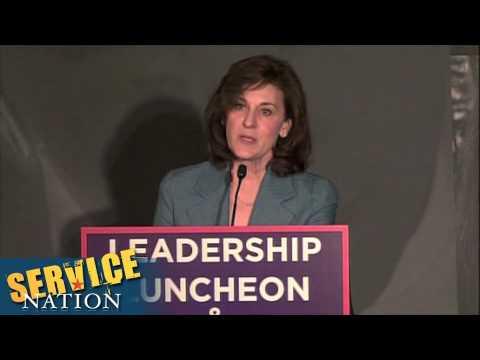Serve America Act Anniversary - Vickie Kennedy