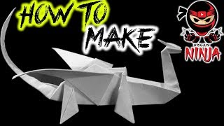 How To Fold: Origami Dragon