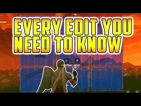 How To Build - EVERY EDIT (Fortnite Battle Royale Tips and Tricks)
