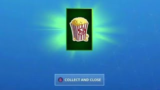 FREE POPCORN for Fortnite Season X Players!