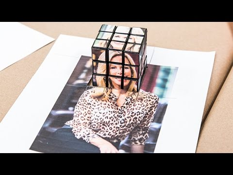 How To - DIY Photo Rubik's Cube - Hallmark Channel