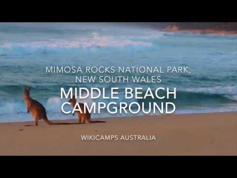 Middle Beach Campground - Mimosa Rocks National Park, NSW, Australia