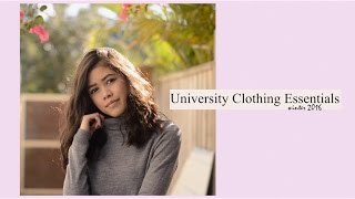 10 University Clothing Essentials | Winter 2016(O P E N  F O R  M O R E . ————————————————————————————— 10 clothing essentials that I've been wearing heaps during this winter ..., 2016-07-31T10:00:00.000Z)