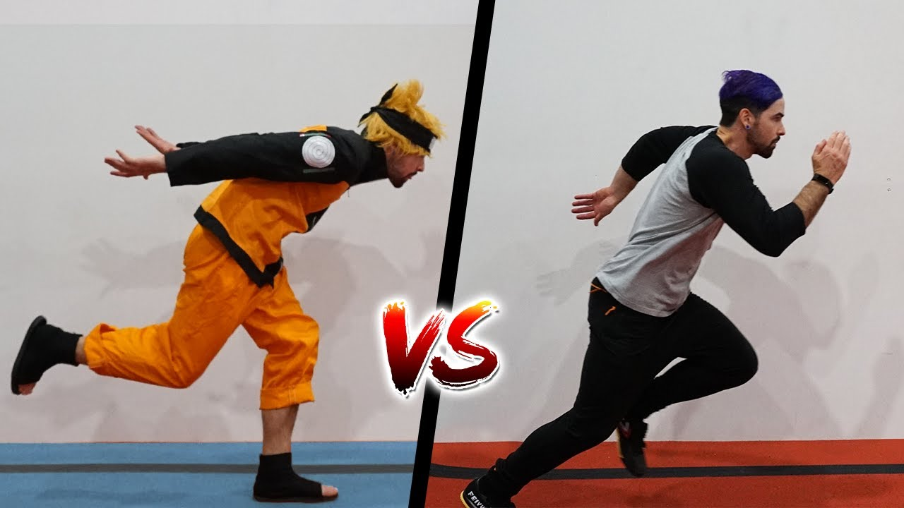 Does the Naruto Run Work?! - Parkour Test In Real Life
